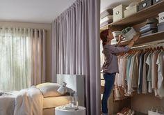 Relooking déco, création de dressing dans une chambre – Saint Maclou Saint Maclou Idées Déco