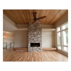 Modern Living Room Stone Fireplace Rustic Elegance House ❤ liked on Polyvore featuring home, home decor, rooms, rustic home decor, rustic home accessories and stone home decor