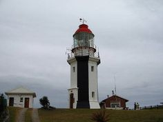 Great Fish Point lighthouse - stunning little lighthouse close to Port Alfred