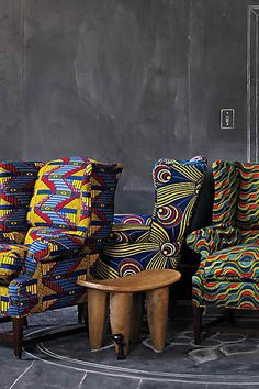 I love the Josef Wingback chair from Anthro.I want to write all over those chalkboard walls♥♥♥♥