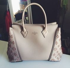 I really thought that Alma would be the one and only LV bag, to me, till I came across that one, LV W... Waw, you!