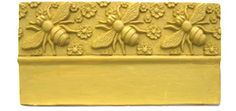 Bee and Flower edging stone mold