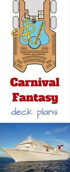 Carnival Fantasy Deck Plan Carnival Cruise Fantasy Deck