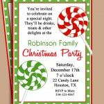 Free Printable Christmas Party Invitations Templates!!!