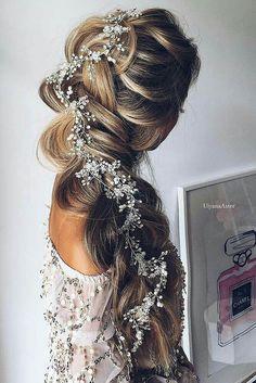 Elsa inspired wedding hair #wedding #hairstyles #weddinghair #longhair #elsa