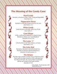 The Christmas Candy Cane! - Spiritual Symbolism - Enjoy with Troy! Christmas Program, Christmas Poems, Meaning Of Christmas, Christmas Activities, A Christmas Story, Christmas Candy, Christmas Traditions, Christmas Holidays, Christmas Crafts