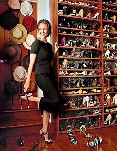 Jessica Alba's Closet | Inside Celebrity Closets | House & Home | Photo via Design Time & Scene blog