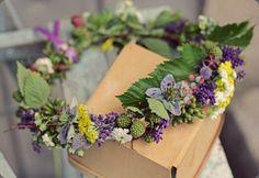 Floral headpiece, Love n Fresh Flowers