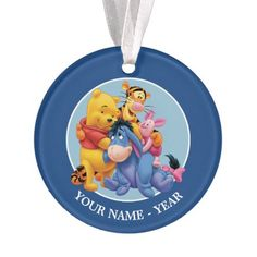 Pooh & Friends | Add Your Name Ornament