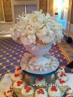 vintage cupcake bouquet - Google Search