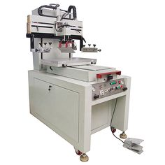 Screen Printing Machine, Screen Printer, Silk Screen Printing, T Shirt Printer, Leather Socks, Glass Ceramic, Building Materials, Printers, Screen Printing Press