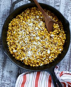Spicy Southwest Corn from @Chris Cote @ Shared Appetite