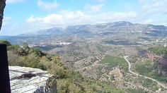 Het uitzicht in Siurana
