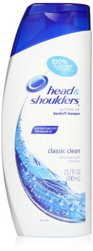 Head & Shoulders Classic Clean Dandruff Shampoo 23.7 Fl Oz (Pack of 2) - http://www.mensgroomingstuff.com/head-shoulders-classic-clean-dandruff-shampoo-23-7-fl-oz-pack-of-2/