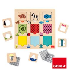 Goula | Textures, colors and transparencies puzzle