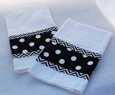 Single Embellished Boutique Kitchen Towel