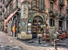 The Old city of Barcelona
