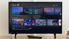 Comcast's New Xfinity Platform Blurs Streaming Media, Live TV, Internet, Apps.And Smart Home Hub . Comcast Xfinity, Connected Life, Best Smart Home, Cable Companies, Sports Channel, Home Theater Design, Sports Day, Home Tv, Energy Use
