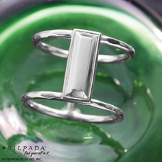 Channel your inner fashionista with our In Vogue Ring | #Silpada #WomensFashion www.mysilpada.com/tabby.carlsen