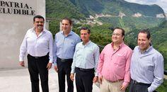 Duarte de Ochoa estuvo acompañado por los gobernadores del Estado de México, Eruviel Ávila Villegas; de Hidalgo, José Francisco Olvera Ruiz, y de Puebla, Rafael Moreno Valle Rosas, así como el Presidente de la República.