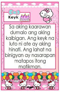 Practice reading with these Tagalog Reading Passages. These can be useful for remedial instruction, used as reading charts for your readin. Free Reading Comprehension Worksheets, 1st Grade Reading Worksheets, Grade 1 Reading, Kindergarten Reading Activities, Reading Charts, Free Kindergarten Worksheets, Phonics Activities, Grade 1 Lesson Plan, English Stories For Kids