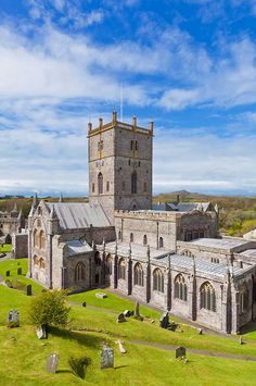 St Davids Cathedral, Pembrokeshire: Built upon the site of St David's sixth-century monastery, St Davids Cathedral has been a site of pilgrimage and worship for many hundreds of years.
