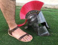 Barefoot Men sandals Handmade 100% Genuine by SpartaSandals