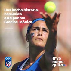 Monica Puig First Olimpic Gold Medal for Puerto Rico