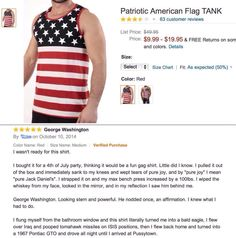 Red, white, and blue review - Imgur