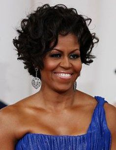 Short Curly Hairstyles Pictures For Naturally Curly Hair Natural Hair Styles michelle obama natural hair style Short Wavy Hairstyles For Women, Modern Hairstyles, Curly Bob Hairstyles, Curly Hair Styles, Natural Hair Styles, Layered Hairstyles, Hairstyle Short, Medium Hairstyles, Easy Hairstyles