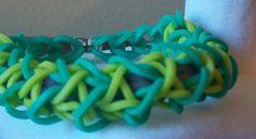 Rubberband Bracelet- Mint Berry Sweetheart   TheSaltedCherry - Jewelry on ArtFire