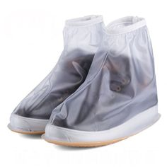 Environmental protection PVC Waterproof Wear resistant Shoe Cover XXL
