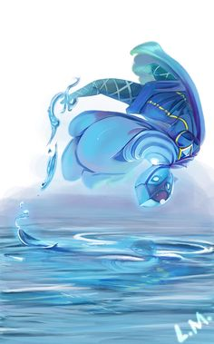 (Skyward Sword) Water Dance