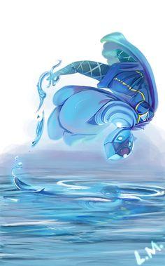 (Skyward Sword) Water Dance