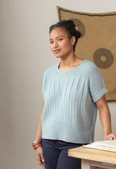 Sweater Knitting Patterns, Knitting Designs, Brooklyn Tweed, Bind Off, Knit Vest, Knit Fashion, Knitwear, Knit Crochet, Clothes
