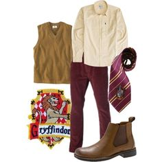 """""""Gryffindor"""" by companionclothes on Polyvore"""