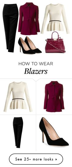 """""""Untitled #381"""" by july-sk on Polyvore featuring Sans Souci, L'Autre Chose, Manolo Blahnik, Chloé and Aspinal of London"""