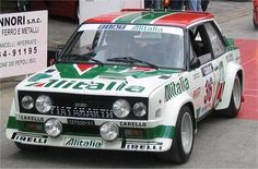 Fiat 131 Abarth:  This car just begs for you to get in it and drive just as fast and roughly as you can.  It's an econo-box that went bad and is out looking to break some rules.