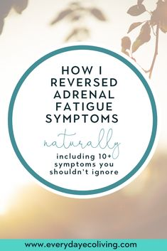 10 Adrenal Fatigue Symptoms You Shouldn't Ignore - EverydayEcoLiving Fatigue Surrénale, Adrenal Fatigue Treatment, Adrenal Fatigue Symptoms, Adrenal Glands, Adrenal Health, Health And Fitness Articles, Chronic Stress, Hormone Imbalance, Natural Health Remedies