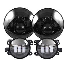 Cheap headlight protector, Buy Quality headlights mitsubishi directly from China headlight flashlight Suppliers: Black 7 inch Round LED Headlight with High/low beam 4 inch led fog light for jeep Wrangler JK TJ LJ Wrangler Jeep, Jeep Wrangler Headlights, Jeep Tj, Jeep Truck, Jeep Wrangler Unlimited, Jeep Lights, Car Lights, Jeep Wrangler Accessories, Jeep Accessories