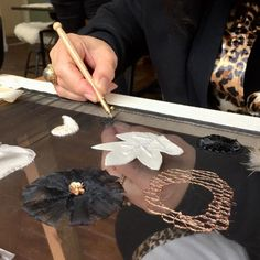 Informatie avonden Jaarprogramma Broderie d'Art 15 en 17 april - Saskia ter Welle – Couture Classes and Broderie d'Art Courses