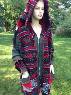 Hey, I found this really awesome Etsy listing at https://www.etsy.com/listing/201659978/jacket-sweater-4x-5x-short-coat-woolfree