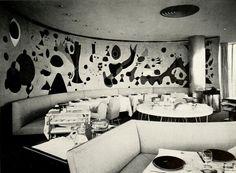 Joan Miro's murals inside S.O.M.'s Terrace Plaza Hotel, Cincinnati.