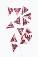 Sweet Home Collection Vimpler Happy Birthday Rød/hvit - Pyntegjenstander | Ellos Mobile