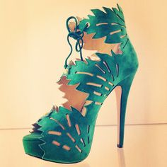 Come visit the new Charlotte Olympia Bal Harbour and shop the fun and corky collections such as the Eve Banana Leaf green suede sandal! Read our exclusive interview with the designer here: http://balharbourshops.com/fashion/q-a-a/2934-dare-to-dellal