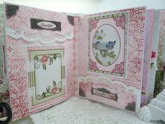 Heartfelt Creations Mini Album - Scrapbook.com                                                                                                                                                      More
