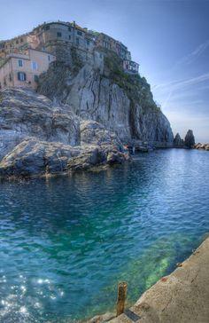 Corniglia Bay - Liguria , Italy