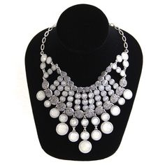 *NEW* Lucky Brand Bib Necklace This Lucky Brand necklace will surely make a statement! It will look absolutely flawless with a simple gray top and black jeans. It is new with tags and never worn. Lucky Brand Jewelry Necklaces