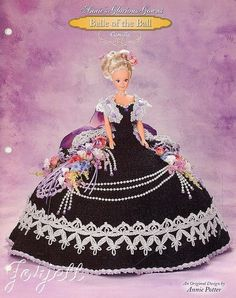 Camilla, Annie's Glorious Gowns Belle of the Ball crochet pattern