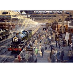 The Wentworth Holiday Time Snow Hill is a 500 pieces high quality, traditional, wooden jigsaw puzzle and a great gift for train and vintage transport fans. Steam Trains Uk, Heritage Railway, Snow Images, Steam Railway, Train Times, Time Pictures, Train Art, Wooden Jigsaw Puzzles, Railway Posters